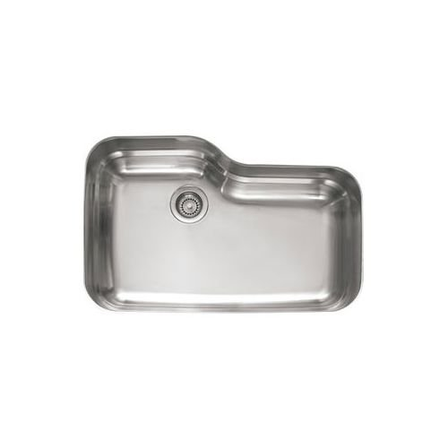 Franke ORX110 Orca 30 11/16' x 20 1/16' x 9 1/16' 18 Gauge Undermount Single Bowl Stainless Steel Kitchen Sink