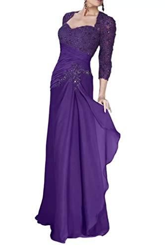 Elegant Braut Abendkleider Fuer Marie Partykleider Chiffon La Lila Brautmutterkleider Formalkleider Hochzeits Chiffon O5Exqw