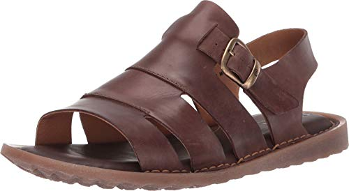 Born Bridger Dark Brown Full Grain 11 (Born Mens Sandals)