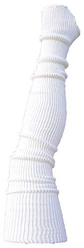 AVIDESO Overknee Stulpen für Damen oder Mädchen extralang - Ballettstulpen mit Fersenloch - sehr Flauschige Beinlinge