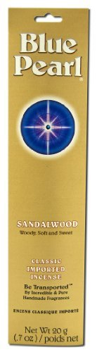(Blue Pearl, Sandalwood, Classic Imported Incense, 20 g (.7)