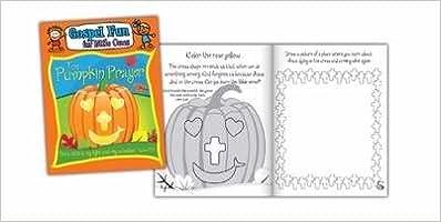 Activity Book - Pumpkin Prayer (Psalm 27:1 NLT) (Gospel Fun