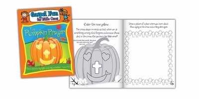 Activity Book - Pumpkin Prayer (Psalm 27:1 NLT) (Gospel Fun For Little Ones) (Pumpkin Prayer)
