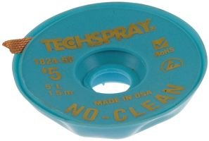 Techspray - 1824-5f - Desoldering Braid