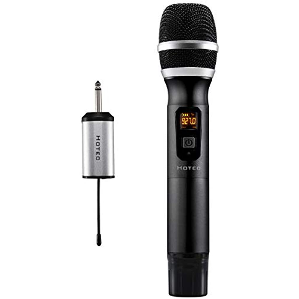 25 Channel UHF Handheld Wireless Microphone With Mini