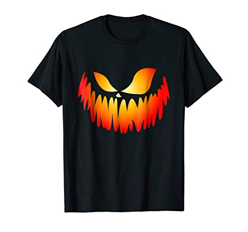 Best Scary Pumpkin Lover Gifts Men Women Tee Shirts -
