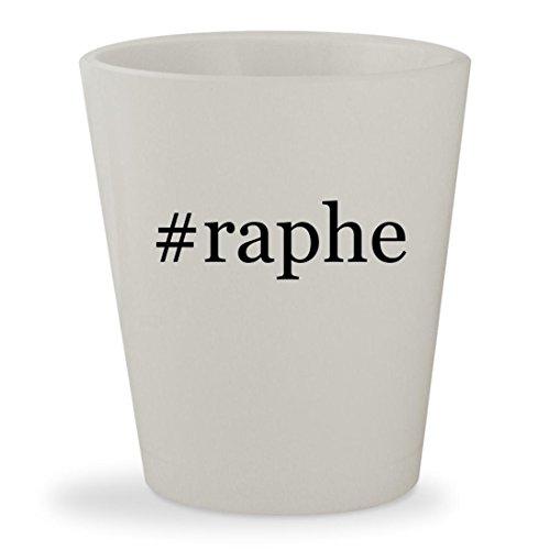 #raphe - White Hashtag Ceramic 1.5oz Shot Glass