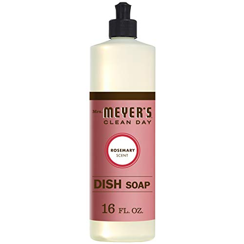 Mrs. Meyer's Liquid Dish Soap Rosemary, 16 FL OZ