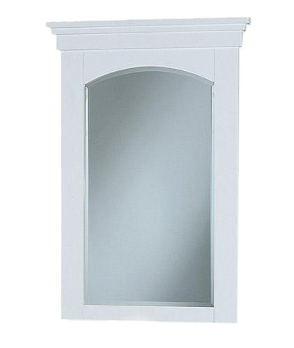 Fairmont Designs 185-06L Shaker Collection 26-inch Mirror, Polar - Shaker Mirror Fairmont