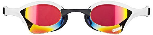 Arena Cobra Ultra Mirror Racing Goggles Red Revo/White/Black