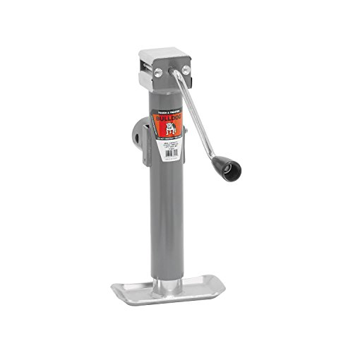 Bulldog Trailer Jack Swivel (Bulldog 1782010117 Gray Universal 10