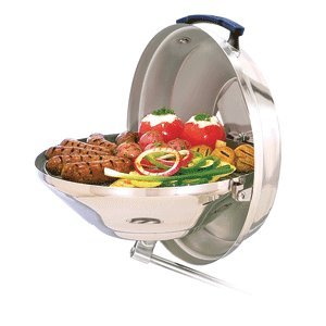 Magma Products Marine Kettle Charcoal Grill with Hinged Lid (Original Size)