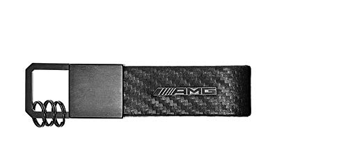 Fibre Collection Carbon - Genuine Mercedes Collection AMG carbon fiber key ring