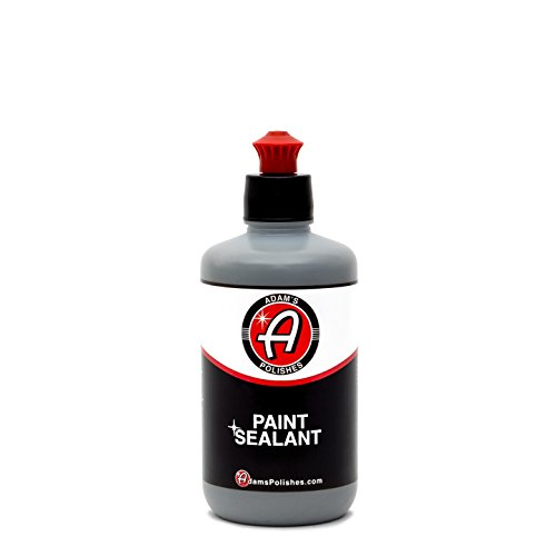 Adam's Paint Sealant - Incredibly Reflective Shine and Lasting Protection - Apply By Machine or Hand - Our Most Durable Polymer Protection Ever - 6 to 8 Month Protection per Use (8 oz)