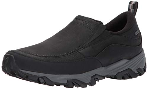 Merrell Men's Coldpack Ice+ Moc Wp Shoes, Black, 9, used for sale  Delivered anywhere in Canada