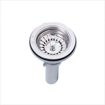 Kindred 1135 Stainless Strainer Assembly by Kindred Sinks by Kindred Sinks