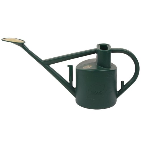 Haws 6-Liter Plastic Outdoor Watering Can 660, Green Bonsai Watering Can