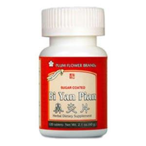 Fleur de Prunier - Bi Yan Pian - Sugar Coated - 120 Comprimés
