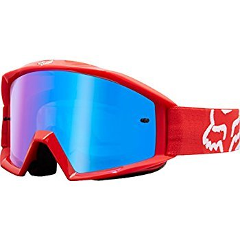 Fox Racing Main Race Adult MX Motorcycle Goggles Eyewear - Red/No Size