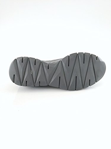 Pantofola d'Oro Herrenschuh Sneaker Echtleder grau metallic Größe 41