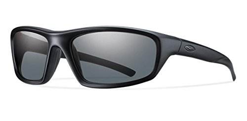 Smith Optics Director Tactical Sunglass with Black Frame (Polarized Gray ()