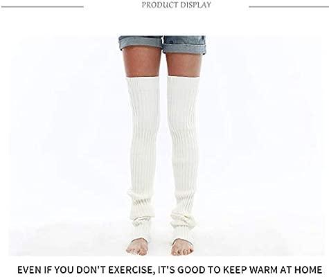 FGDFG Calentadores piernas Mujer Invierno de Yoga for ...