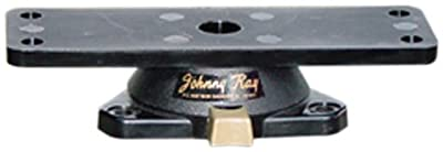 "Johnny Ray JR-300 Marine 1-1/2X5-1/2"" Top Push Button Release Swivel Mount by Johnny Ray"