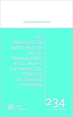 Los Derechos de Participación de los Trabajadores en el Nuevo Escenario del Derecho del Trabajo en España Laboral: Amazon.es: NAVARRO NIETO,Federico: Libros