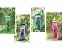 Blooms Squirrel Resistant Cage Feeder (Set of 4) by Evergreen Enterprises, Inc