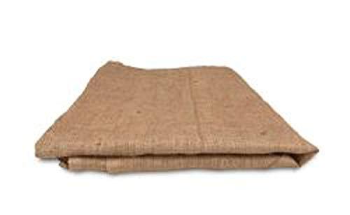 Acme 100058941 Burlap Reusable Garden Cloth Waste Bag, 7' x 7' by Acme (Image #1)