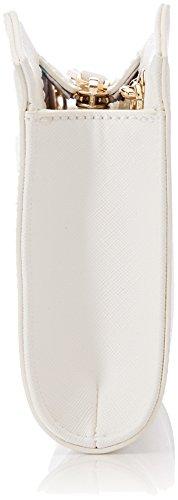 Trussardi Pochette Jeans White Pochettes Blanc Levanto Ecosaffiano Ov1wOzx
