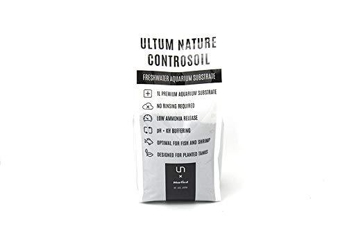 Ultum Nature Controsoil Freshwater Planted Aquarium Substrate - Normal Black (1 Liter)
