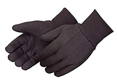 Work Gloves – TIG Welder Men's Protective Gloves – Safety Grip Utility Gloves for Welding Carts, Mechanics, Garden, Electrician, Auto Shop – 100% Cotton – 12-Pack – Comfortable Fleece