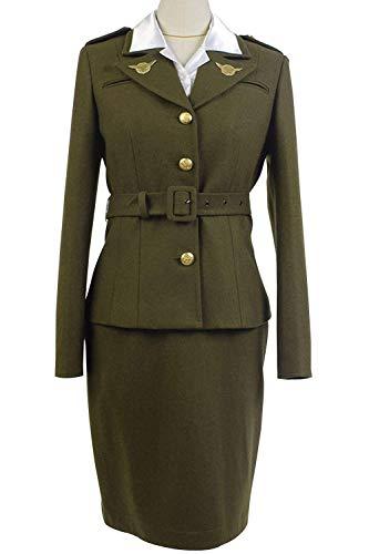 Mutrade Women's America Officer Cosplay Costume Halloween Captain Uniform Suit,Medium]()