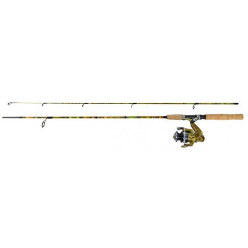 Jimmy Houston FISH HUNTER COMBO SERIES 6'6 2 PC MED W/FHPD-204A 4B IAR REEL