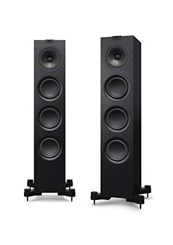 KEF Q550 Schwarz Lautsprecher Paar, HiFi | Heimkino | Standlautsprecher | Boxen | Stereo | High End | 3-Wege