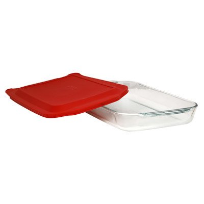 4 Qt. Oblong Baking Dish with Cover
