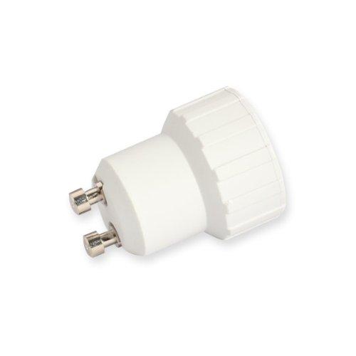 JUNERAIN GU10 à E14 Socket Base Halogène CFL Ampoule Lampe Adaptateur Support de convertisseur