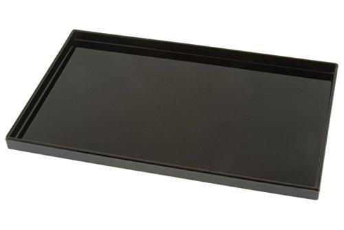 Kotobuki Rectangular Black Lacquer Serving Tray, 10-1/2x6-5/8 ,#270-941