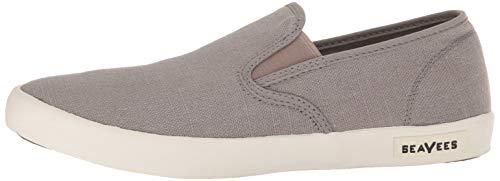 SeaVees Men's Baja Slip On Standard Casual Sneaker,Tin Grey, 12 by SeaVees (Image #5)