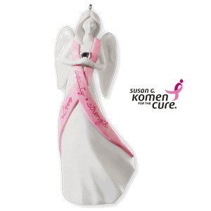 Susan Komen Breast Cancer (Surrounded By Love 2010 Hallmark Ornament)
