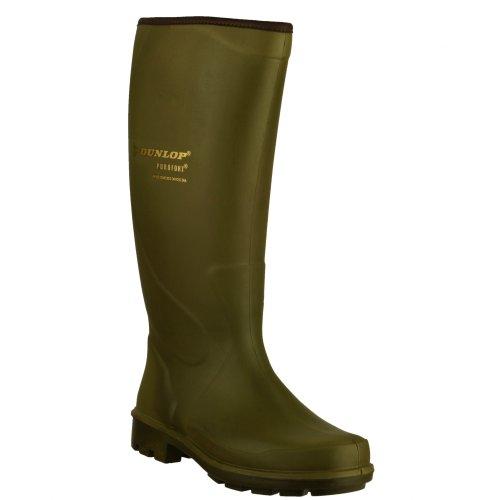 Dunlop - Botas de agua modelo PURO TERROIR P184833 para niños/niñas Verde