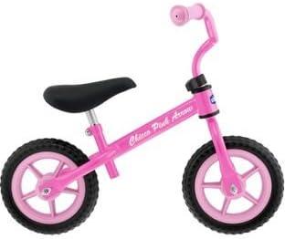 Primera calidad Chicco rosa flecha bicicleta de equilibrio.: Amazon.es: Deportes y aire libre