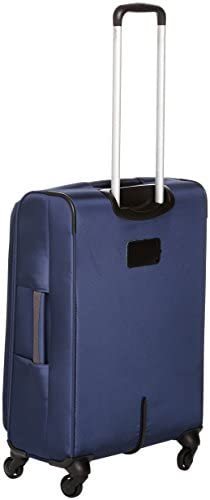 AmazonBasics 3 Piece Softside Carry-On Spinner Luggage Suitcase Set