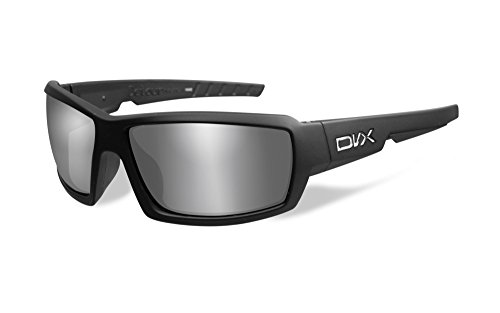 DVX by Wiley X - DETOUR- SUN & SAFETY GLASSES- POLARIZED GREY LENSES/ MATTE BLACK - Dvx Sunglasses