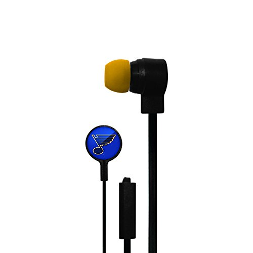 Licensed Stereo Earbuds Louis Blues