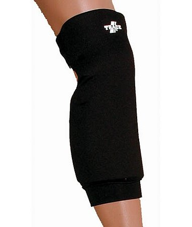 Youth Girls Compression Sliding Shorts (Black Medium Trace Softball Extra Length Knee Guards)