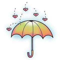 Imaginisce Snag Um Stamp Hippity Umbrella from Imaginisce