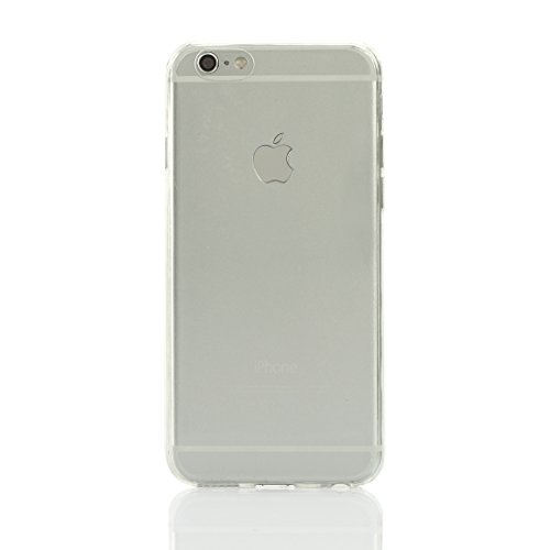 Iphone 6 Case,0.3mm Thin Transparent Clear Case This Is a Use TPU Environmental Protection Material, Transparent, Soft, Thin Attributes This Is a Specifically for the Iphone 6, Iphone Plus Design Style, When You After Use, Will Immediately Improve the Iphone's Touch Feeling, Aesthetic Feeling, More Important Is That He Can Better Protect Your Mobile Phone (White)