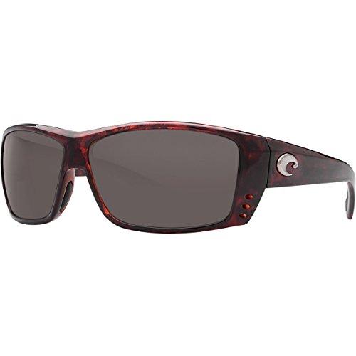 Costa Del Mar Cat Cay Sunglasses, Tortoise, Gray 580 Plastic Lens